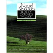 Natural Resources Ecology, Economics, and Policy