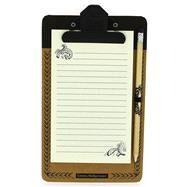 Emma Bridgewater Black Scroll Magnetic Notepad & Pencil by Bridgewater, Emma, 9781454923886