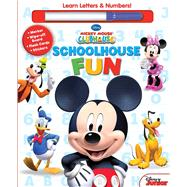 Schoolhouse Fun: A,b,cs & 1, 2, 3s by Disney, 9780794433888