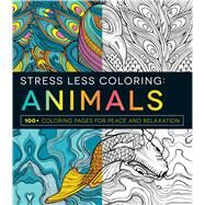 Stress Less Coloring: Animals by Adams Media, 9781440593888