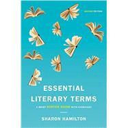 Essential Literary Terms by Hamilton, Sharon, Ph.D., 9780393283891