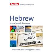 Berlitz Hebrew Phrase Book & Dictionary by Berlitz International, Inc., 9781780043906