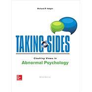 Taking Sides: Clashing Views in Abnormal Psychology by Halgin, Richard, 9781259903908