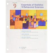 Bundle: Essentials of Statistics for The Behavioral Sciences, Loose-Leaf Version, 9th + MindTap Psychology, 1 term (6 months) Printed Access Card by Gravetter, Frederick J; Wallnau, Larry B.; Forzano, Lori-Ann B., 9781337593908