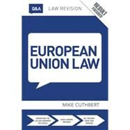 Q&A European Union Law by Cuthbert; Michael, 9781138783911