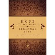 HCSB Study Bible: Personal Size Edition, Hardcover Indexed by Holman Bible Staff, 9781433613913