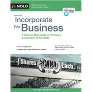 Incorporate Your Business by Mancuso, Anthony, 9781413323917