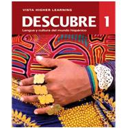 Descubre 2014, Level 1 vText w/ Supersite & eCuaderno Code by VHL, 9781618573919