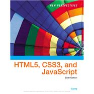 New Perspectives on HTML, CSS, and Dynamic HTML by Carey, Patrick M., 9781305503922