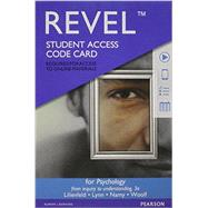 REVEL for Psychology From Inquiry to Understanding -- Access Card by Lilienfeld, Scott O, 9780134223926