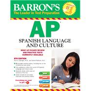 Barron's AP Spanish Language and Culture by Springer, Alice G., Ph.D.; Paolicchi, Daniel, 9781438073927