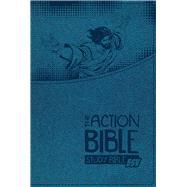The Action Bible Study Bible ESV (Blue) by Unknown, 9780781413930