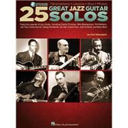25 Great Jazz Guitar Solos by Silbergleit, Paul, 9781458453938