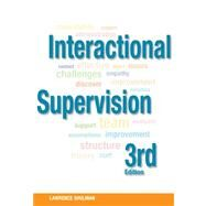 Interactional Supervision by Shulman, Lawrence, 9780871013941