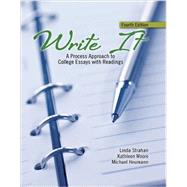 Write It by Strahan, Linda; Moore, Kathleen M.; Heumann, Michael, 9781465243942
