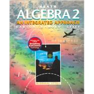 Algebra 2 : An Integrated Approach by Harcourt School, 9780669433944