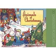 Animals at Christmas Postcard Book by BLUE LANTERN STUDIO, 9781595833945