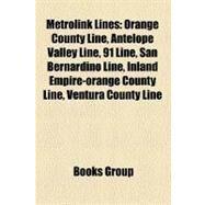 Metrolink Lines by , 9781158563951