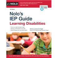 Nolo's Iep Guide by Siegel, Lawrence M., 9781413323955