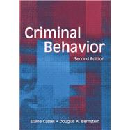 Criminal Behavior by Cassel,Elaine, 9781138003958