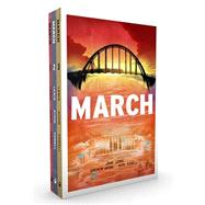 March (Trilogy Slipcase Set) by Lewis, John; Aydin, Andrew; Powell, Nate, 9781603093958
