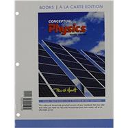 Conceptual Physics, Books a la Carte Edition & Modified MasteringPhysics with Pearson eText -- ValuePack Access Card -- for Conceptual Physics Package by Hewitt, Paul G., 9780133913965