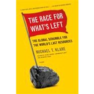 The Race for What's Left The Global Scramble for the World's Last Resources by Klare, Michael, 9781250023971