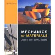 Mechanics of Materials by Gere, James M.; Goodno, Barry J., 9780534553975