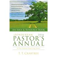 The Zondervan Pastor's Annual 2016: An Idea & Resource Book by Crabtree, T. T., 9780310493976