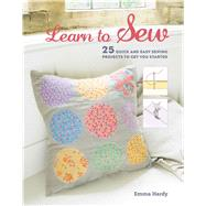 Learn to Sew by Hardy, Emma, 9781782493976