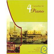 4 Favourites for Piano by , 9780786653980
