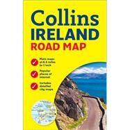 Collins Ireland Road Map by Collins Uk, 9780007543984