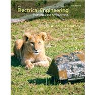 Electrical Engineering Principles & Applications Plus MasteringEngineering with Pearson eText -- Access Card Package by Hambley, Allan R., 9780133413984