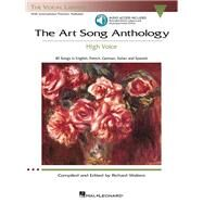 The Art Song Anthology (With 3 CDs of Recorded Diction Lessons and Piano Accompaniments)