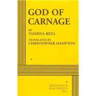 God of Carnage - Acting Edition by Yasmina Reza, translated by Christopher Hampton, 9780822223993