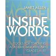Inside Words by Allen, Janet, 9781571103994