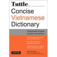 Tuttle Concise Vietnamese Dictionary: Vietnamese-English / English-Vietnamese by Giuong, Phan Van, 9780804843997