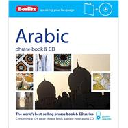 Berlitz Arabic Phrase Book & CD by Berlitz Publishing;APA Publications (UK) Ltd., 9781780044002