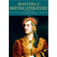 Masters of British Literature, Volume B by Damrosch, David; Baswell, Christopher; Carroll, Clare; Dettmar, Kevin J. H.; Henderson, Heather; Jordan, Constance; Manning, Peter J.; Schotter, Anne Howland; Sharpe, William Chapman; Sherman, Stuart; Wicke, Jennifer; Wolfson, Susan J., 9780321334008