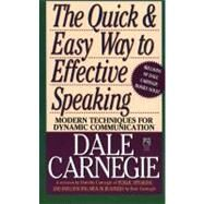 The Quick and Easy Way to Effective Speaking by Carnegie, Dorothy; Carnegie, Dale, 9780671724009