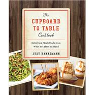 The Cupboard to Table Cookbook by Hannemann, Judy, 9781581574012