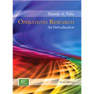 Operations Research An Introduction by Taha, Hamdy A., 9780134444017