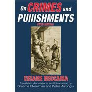 On Crimes and Punishments by Beccaria,Cesare, 9781412864022