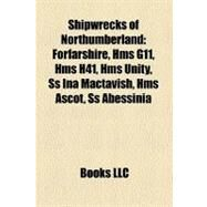 Shipwrecks of Northumberland by , 9781158634026