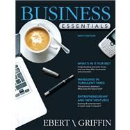 Business Essentials by Ebert, Ronald J.; Griffin, Ricky W., 9780132664028
