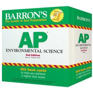 Barron's Ap Environmental Science Flash Cards by Thorpe, Gary S., 9781438074030