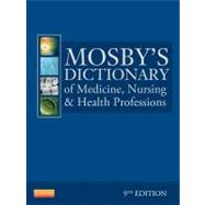 Mosby's Dictionary of Medicine, Nursing, and Health Professions (Book with CD-ROM) by Mosby, 9780323074032