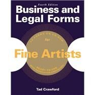 Business and Legal Forms for Fine Artists by Crawford, Tad, 9781621534037