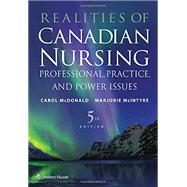 Realities of Canadian Nursing by Mcdonald, Carol, 9781496384041