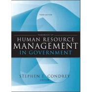 Handbook of Human Resource Management in Government by Condrey, Stephen E., 9780470484043